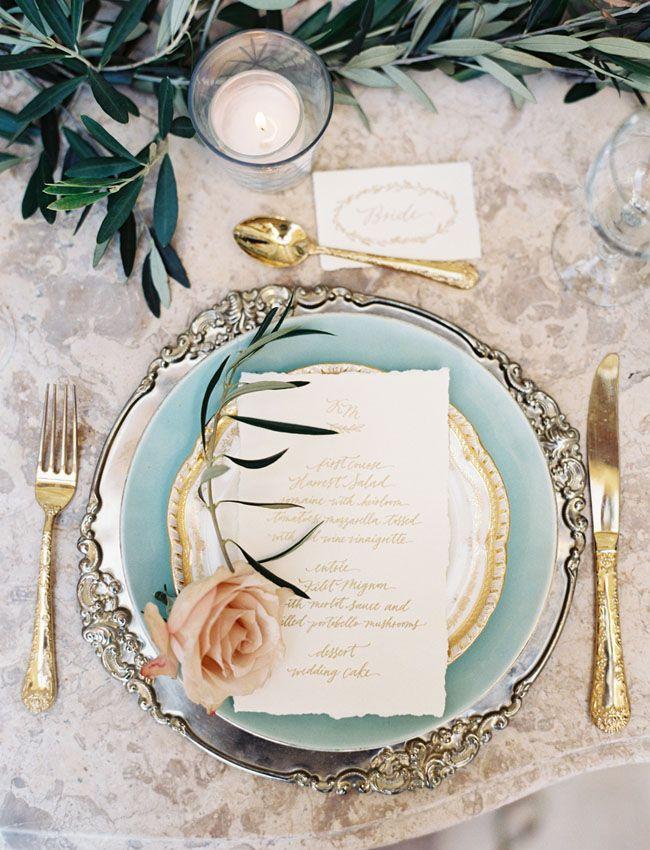Image by Caroline Tran via Green Wedding Shoes.