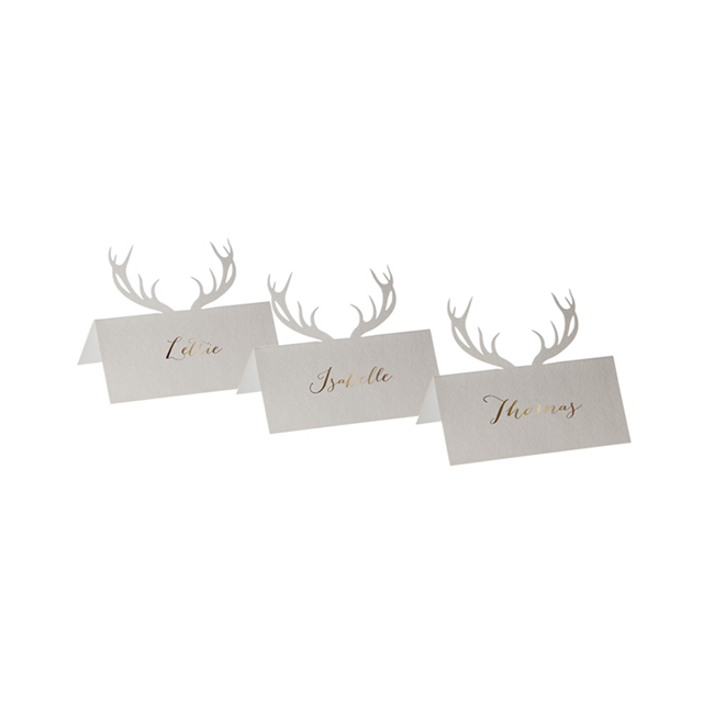 Shop Dapper Deer Place Cards.