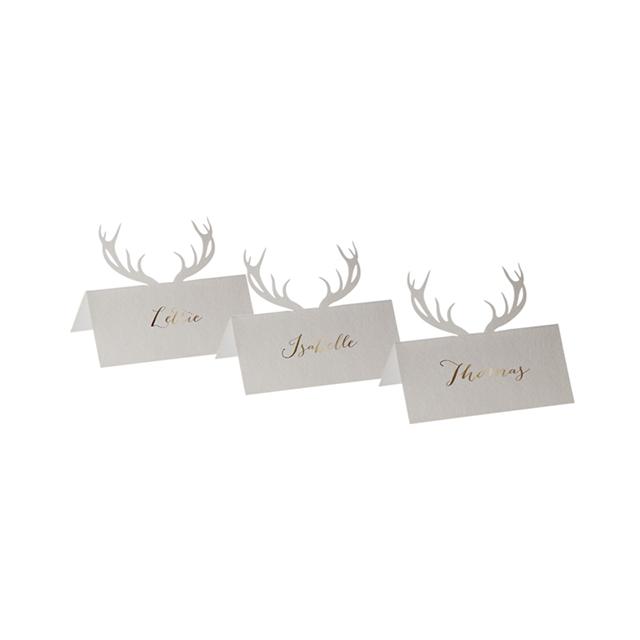 Shop Dapper Deer Place Cards.