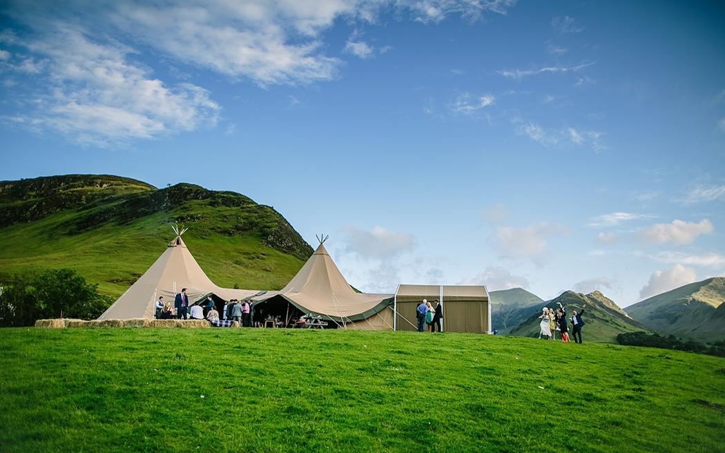 Wedding Venues In Cumbria North West Fjell Event Tipis Uk
