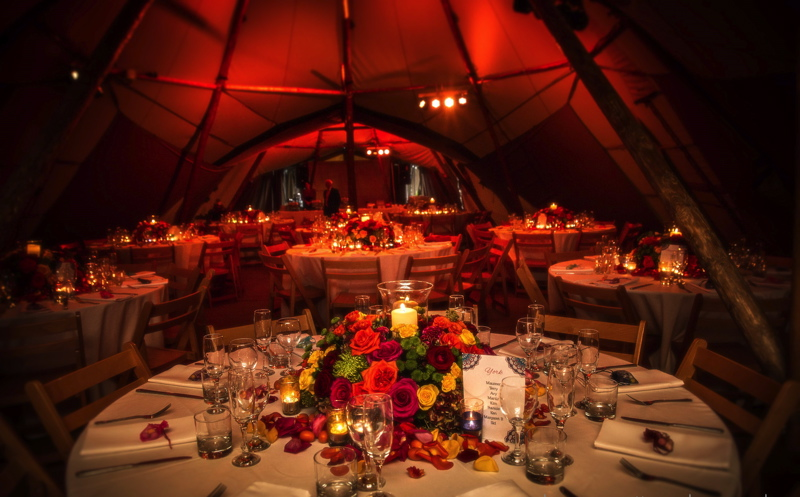Real Tipi Weddings: Wedding Venues In Cumbria, North West