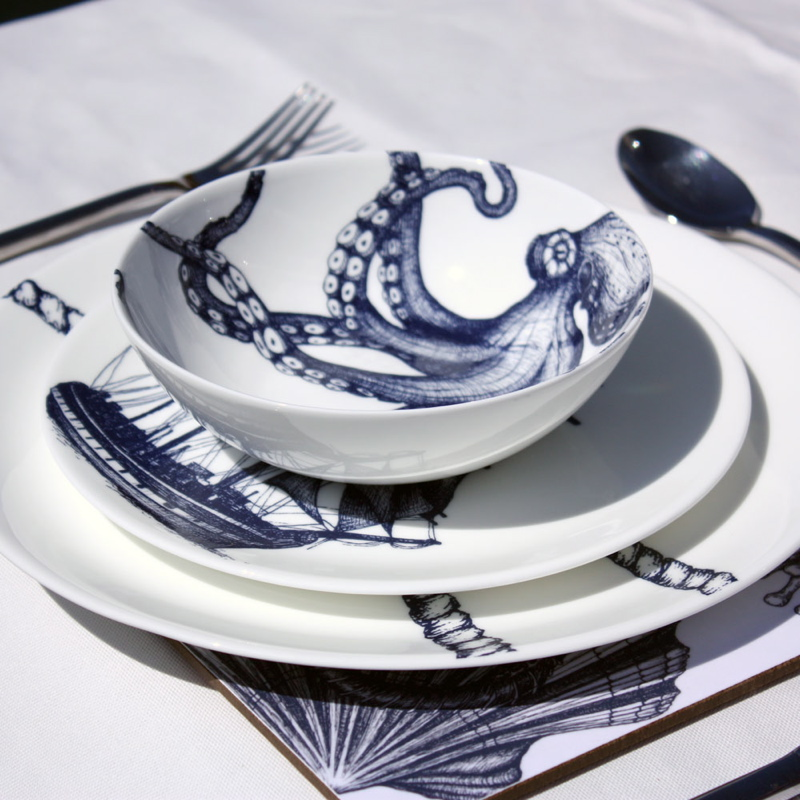 Maritime Dinnerware.
