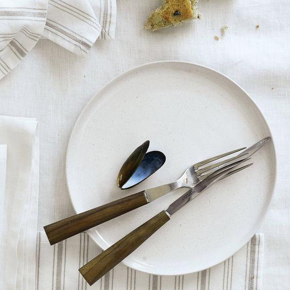 The White Company Artisan Stoneware Dinner Plate - £12.00