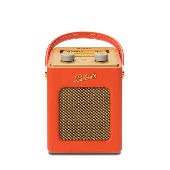 Roberts Radio Revival Mini, Sunburst Orange - £150.00