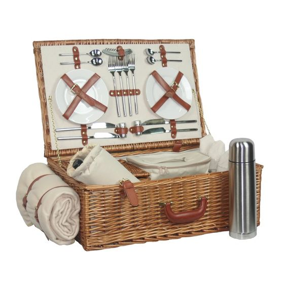 Willow Direct Willow Deluxe 4 Person Hamper - £180.00