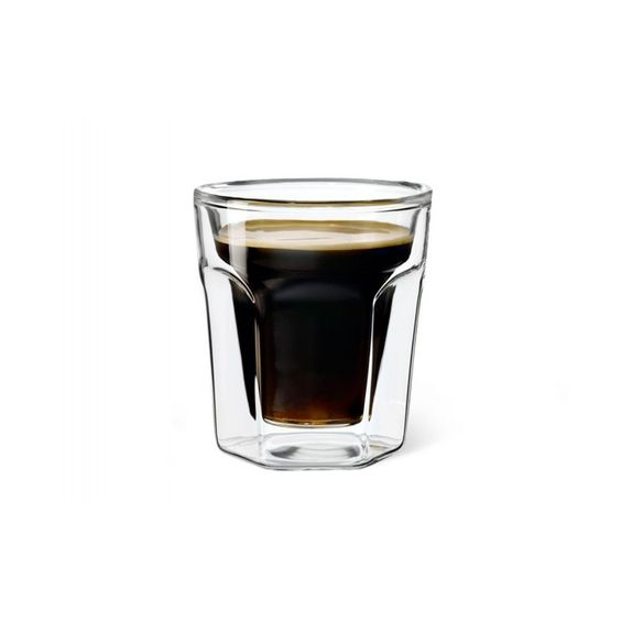 Leopold Vienna Set of 2 Double Walled Glass Espresso - £14.95