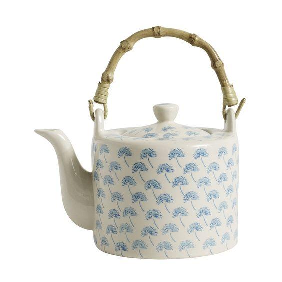 Nordal Blossom Dandelion Teapot 800ml, Turquoise - £30.00