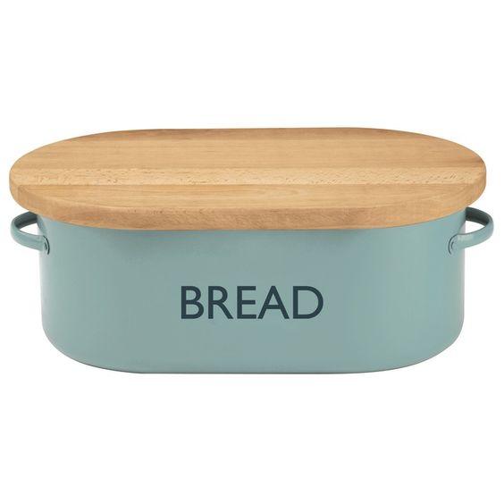 Typhoon Summer House Bread Bin, Blue - £52.49