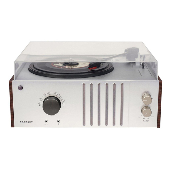 Crosley Player Turntable - £74.99