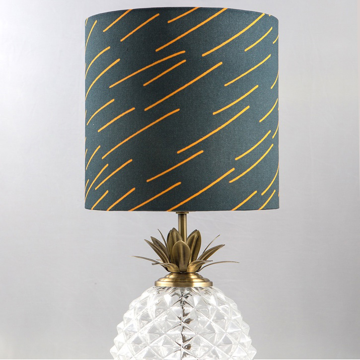 Markless Design Brand Lampshade Navy, Small.