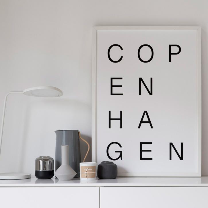 SOOuk 'Copenhagen' Print - 30 x 40cm.