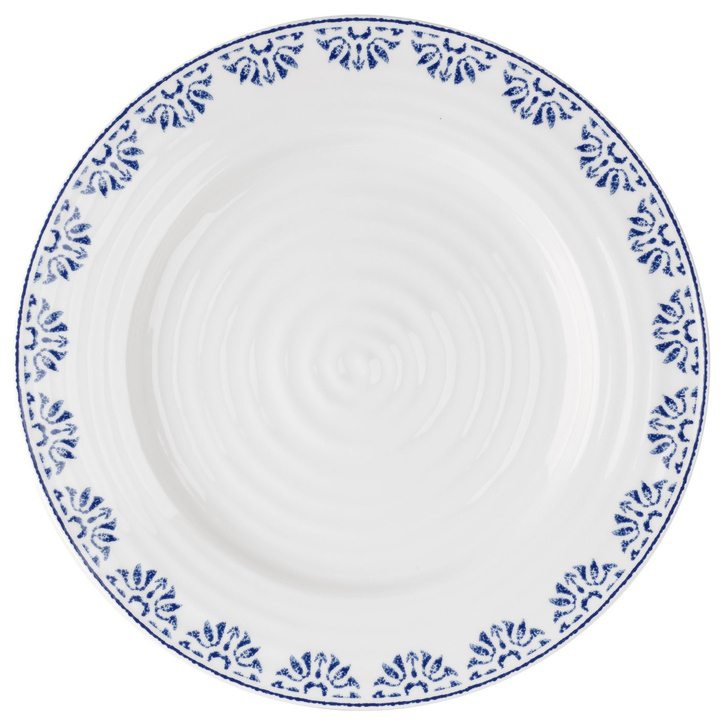 Sophie Conran for Portmeirion Blue Betty Set of 2 Bistro Plates - £55.00.