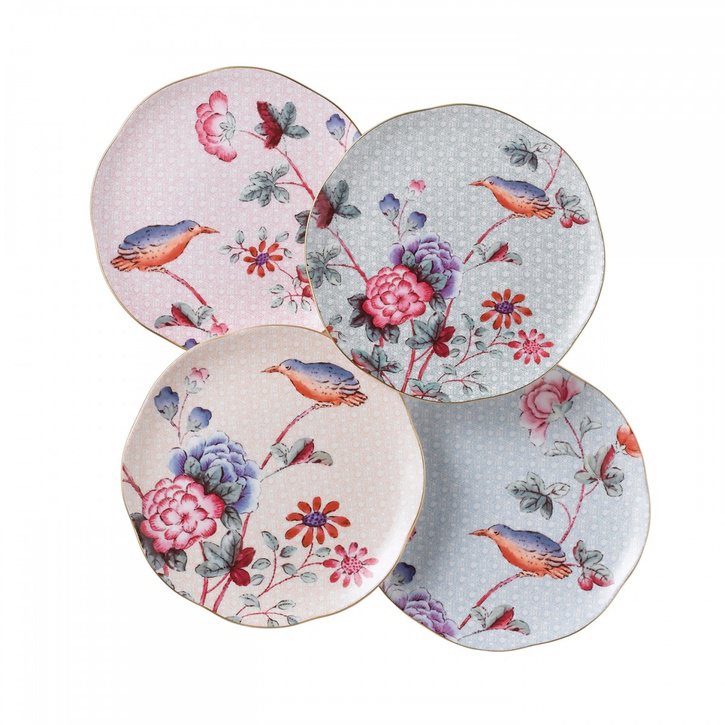 Wedgwood Cuckoo Set of 4 Tea Plates - £75.00.