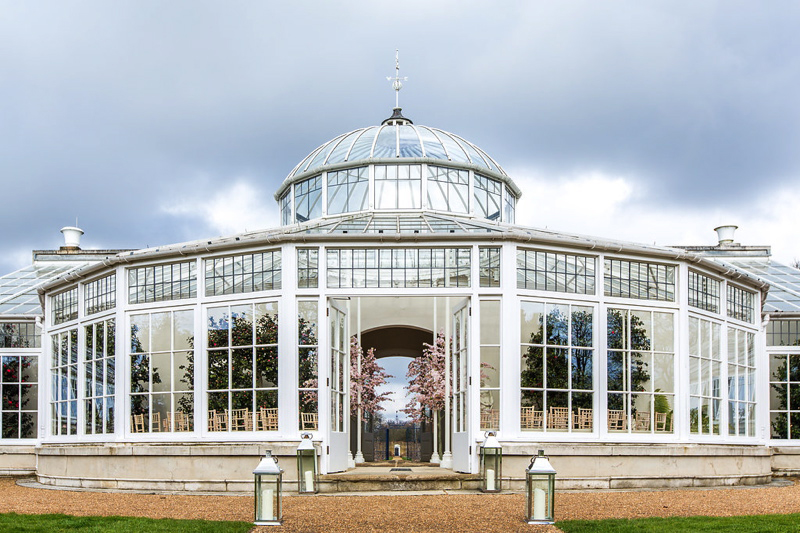 Orangery Glass House Wedding Venues Uk Wedding Venues Directory