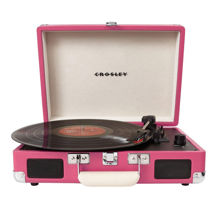 Crosley Cruiser Turntable, available in various colours £74.99 – £89.99.