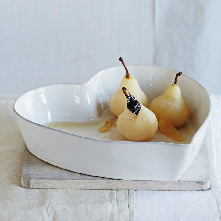 The White Company Porto Stoneware Heart Oven Dish Large, £40.00.