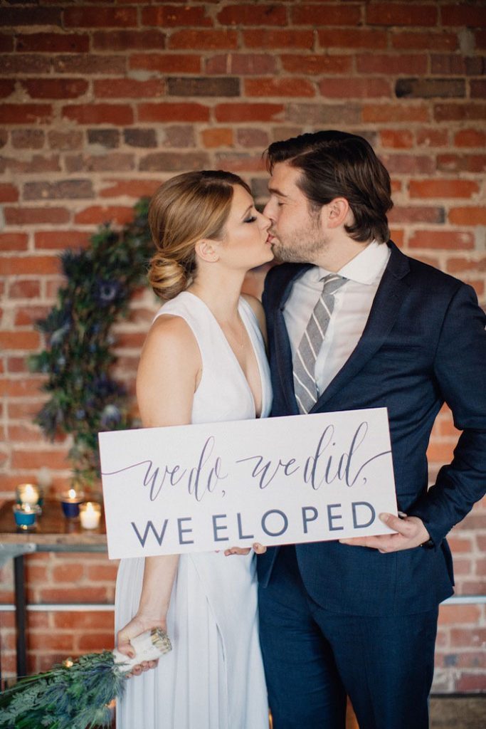 The 2017 Wedding Trend Report - Intimate Elopements.