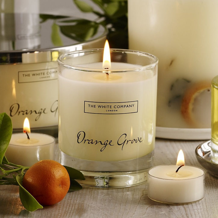 The White Company Orange Grove Candle £20.00.