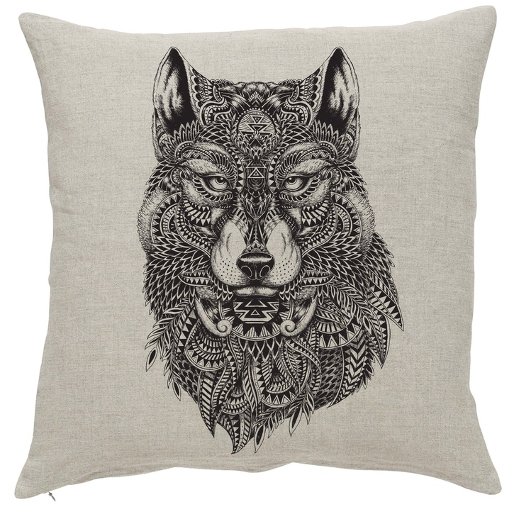 Nordal Cushion Wolf Cover & Pad £24.00.