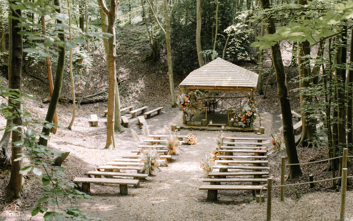 Coco wedding venues slideshow - Eco Woodland Wedding Venue in Buckinghamshire - GreenAcres Chiltern