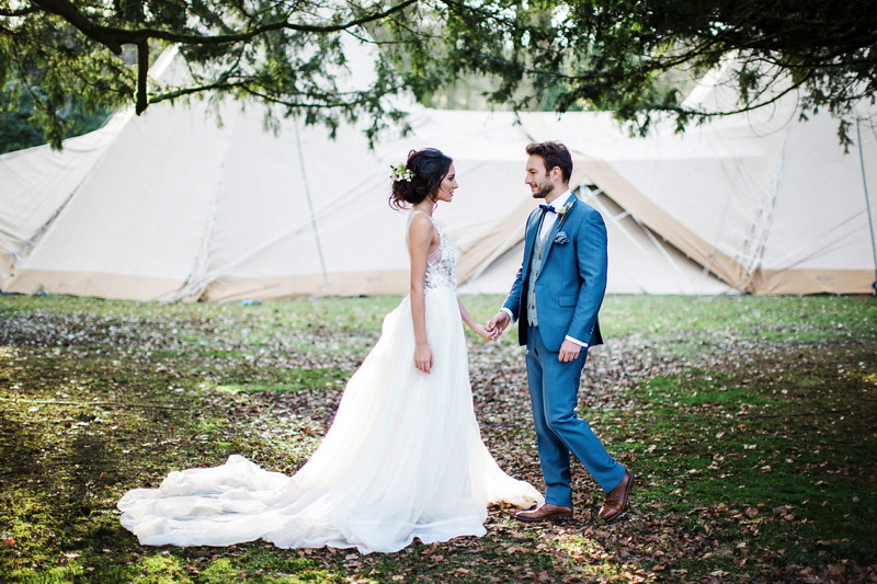 A whimsical wedding in the woods uk wedding venues directory a whimsical wedding in the woods junglespirit Choice Image