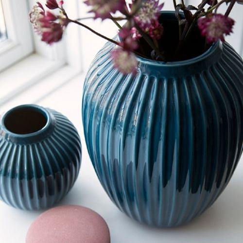 Kahler Hammershøi Vase Mini, Petrol - £20.00.
