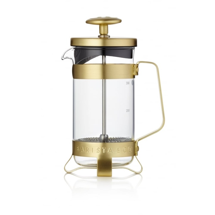 Barista & Co Electric Gold 3 Cup Plunge Pot - £29.95.