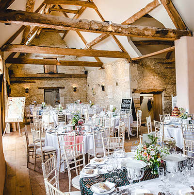 See more about Oxleaze Barn wedding venue in South West