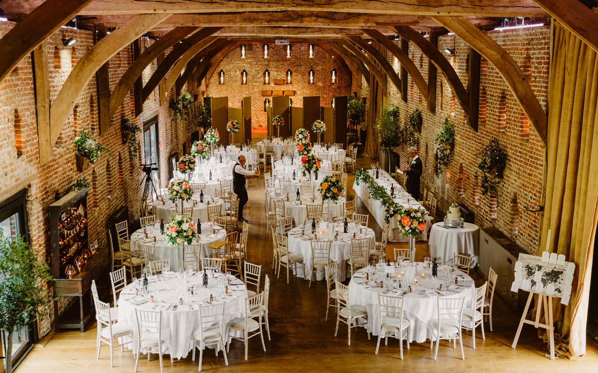 Coco wedding venues slideshow - Barn Wedding Venues in Norfolk - Hales Hall & The Great Barn