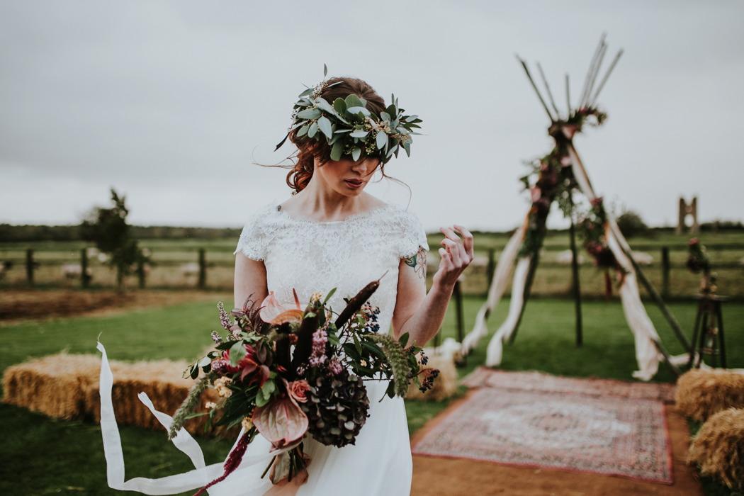 bohemian-wedding-inspiration-at-godwick-great-barn-norfolk-wedding-venue-64
