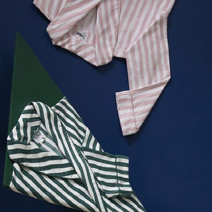 His & Hers Hamper, Pink & Green