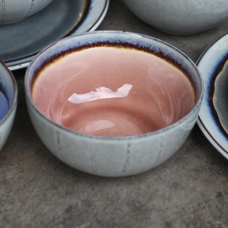 Dakara Ceramic Bowl, Dusky Pink