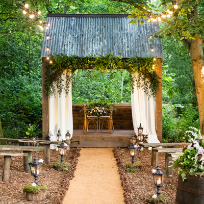 See more about The Woodlands wedding venue in East Midlands