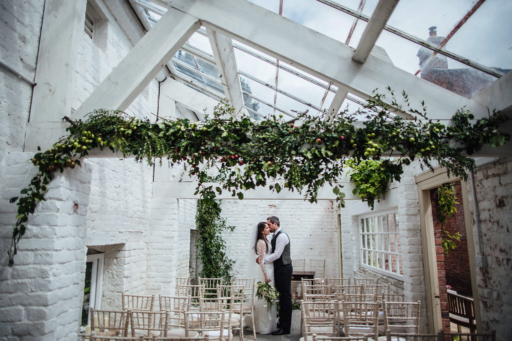 marquee-wedding-with-hanging-foliage-garthmyl-hall-shropshire-wedding-venue-187