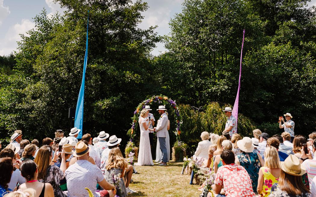 Coco wedding venues slideshow - Bohemian Outdoor Wedding Venue in Surrey - Spirit Lake