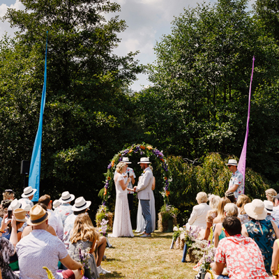 See more about Spirit Lake wedding venue in Surrey,  South East