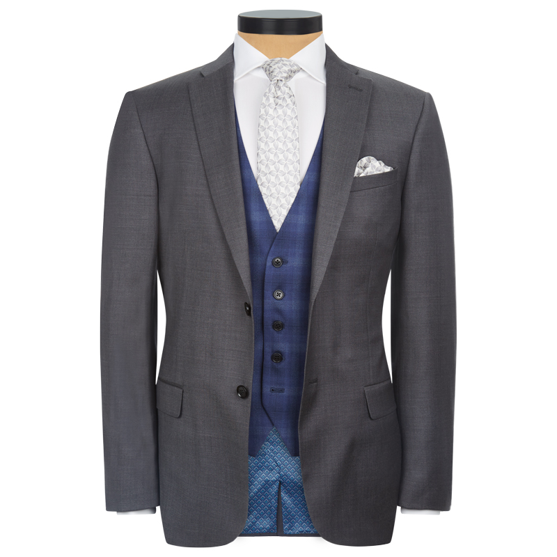 Grey 3 Piece Lounge Suit