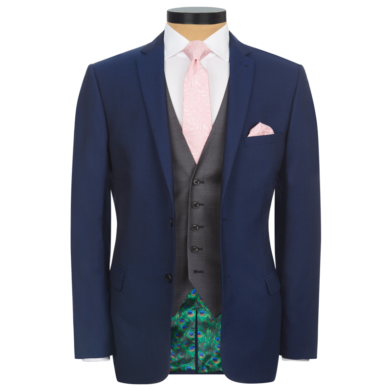 Blue 3 Piece Lounge Suit