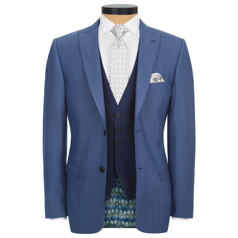Faded Blue 3 Piece Lounge Suit