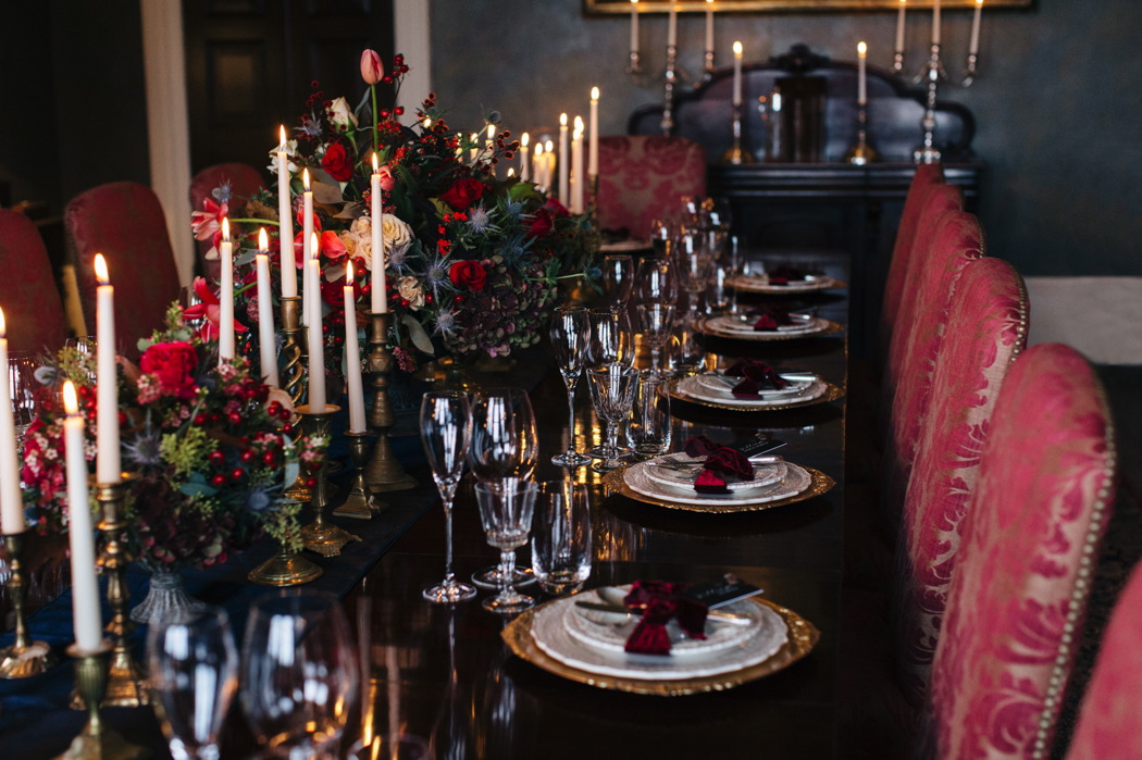 navy-and-gold-styled-shoot-at-hillersdon-house-in-devon-35