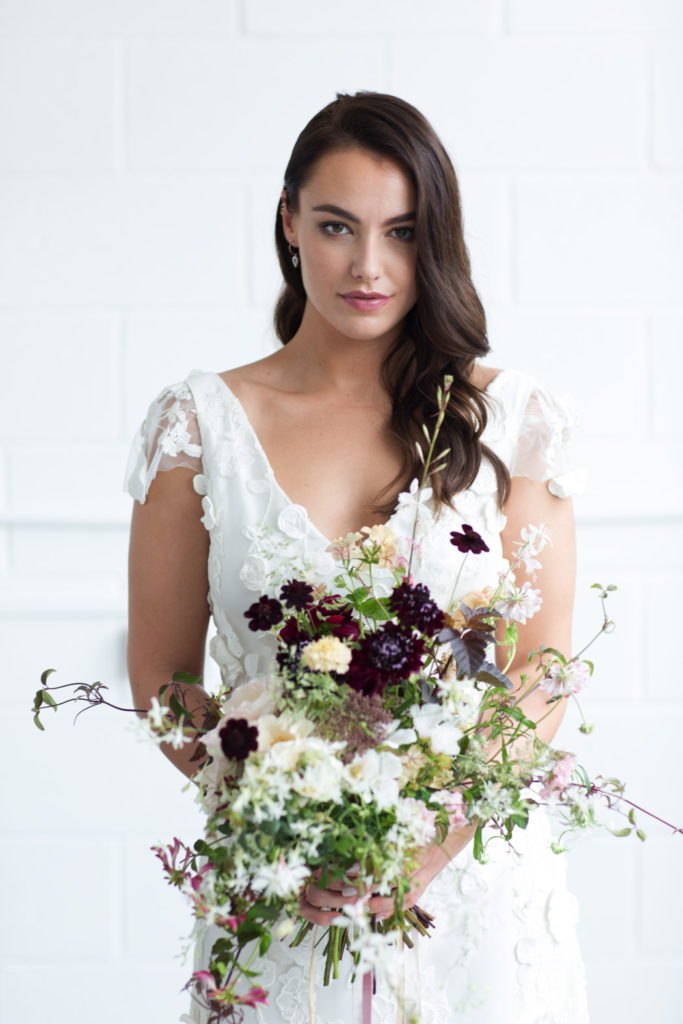 Image by Sarah Hannam Photography   Design concept, planning & styling by Charlotte Nichols Weddings.
