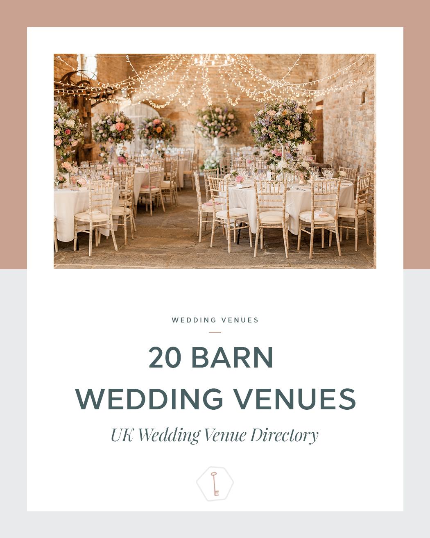 20 Barn Wedding Venues