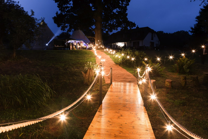 Image courtesy of Timber & Canvas Tents and Tipis.