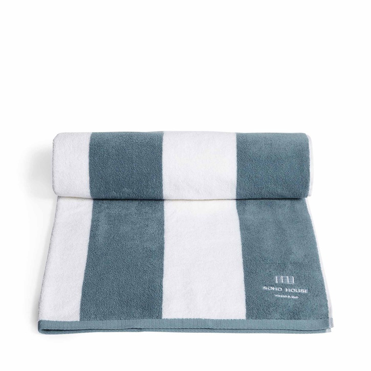 House Pool Towel - Chicago
