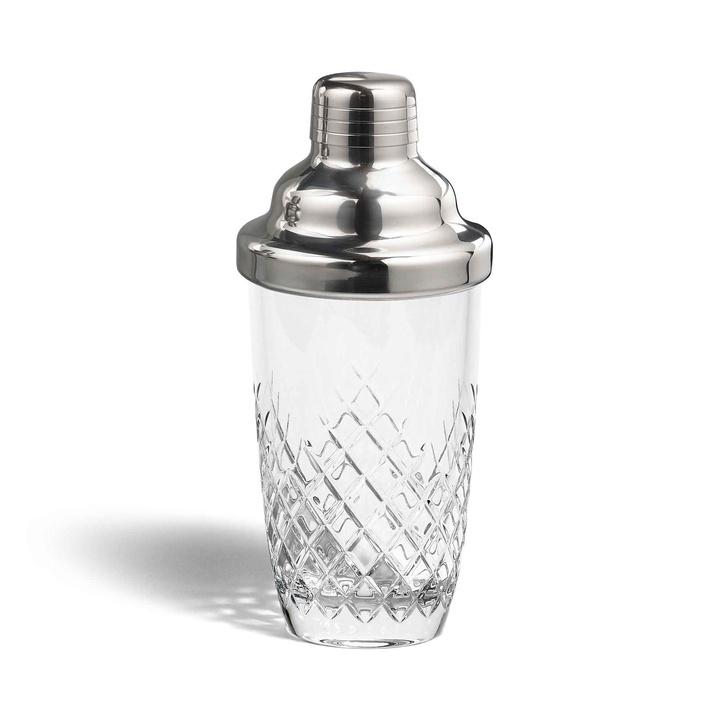 Barwell Cut Crystal Martini Shaker