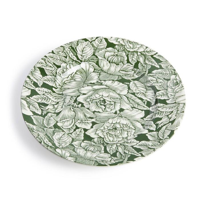 Burleigh Hibiscus Dinner Plate