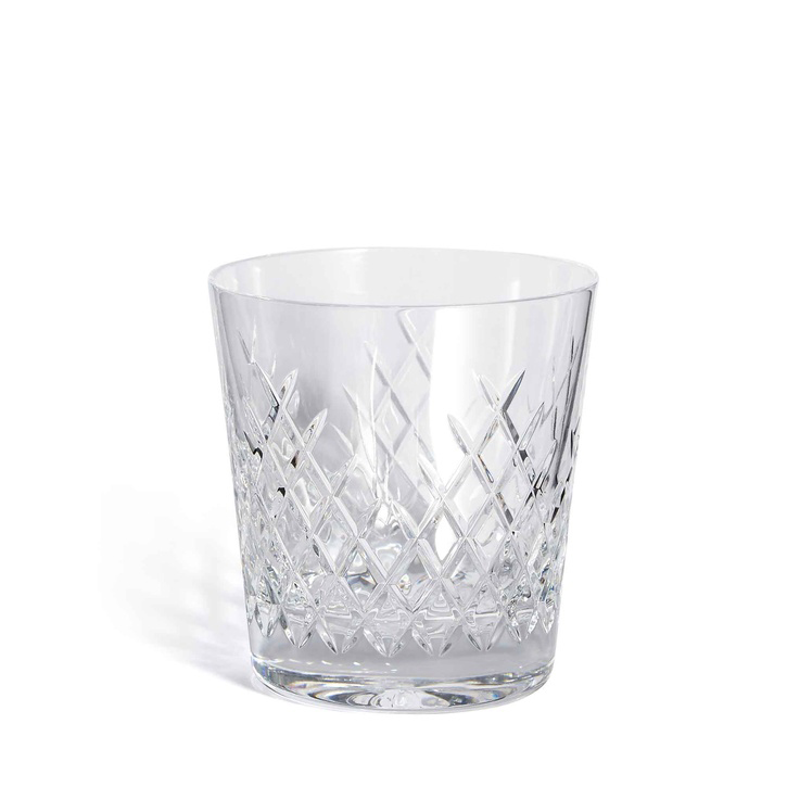 Barwell Cut Crystal Rocks Glass