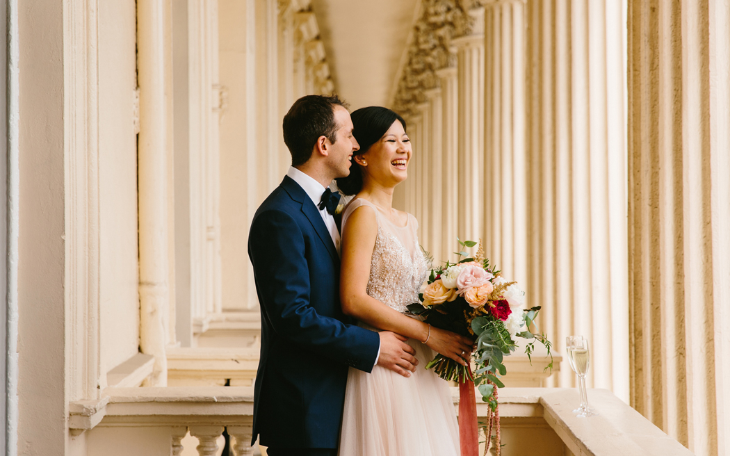 Coco wedding venues slideshow - iconic-london-wedding-venue-institute-of-contemporary-arts-ICA-the-twins-002