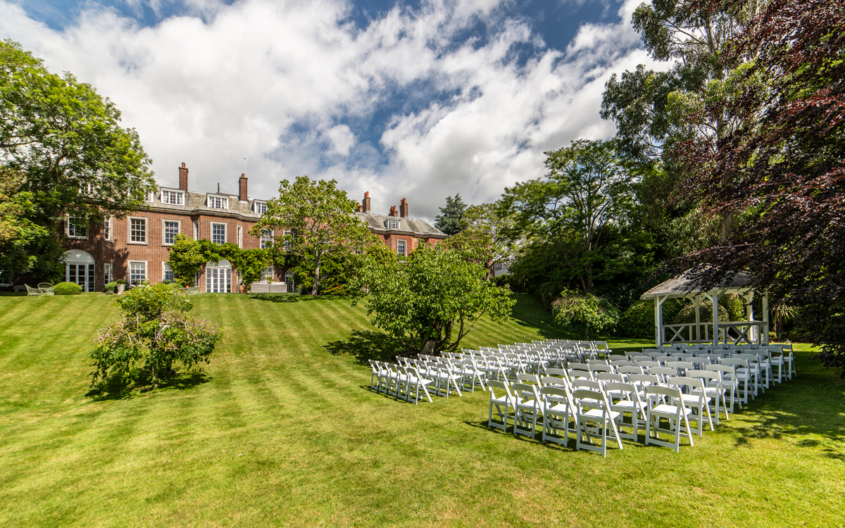 Coco wedding venues slideshow - Outdoor Wedding Venue in East Sussex - Pelham House