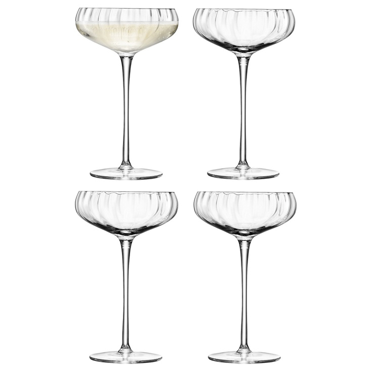Aurelia Champagne Saucer (Set of 4)